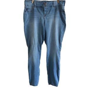 Torrid Light Wash Plus Size Jeans, Size 20 Tall